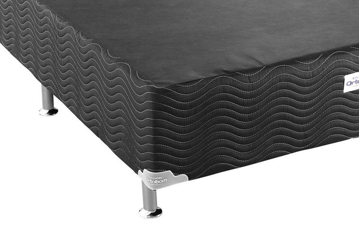 Cama Ortobom Box Base Ortobom Physical Black 20