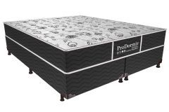 Colchão Probel Bonnel ProDormir Sleep Black + Box Universal